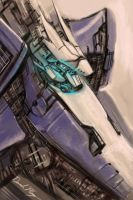 Mecha Sketchy Sketch by Tsuranga