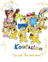 Koopalings comics cover by Aso-Designer