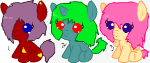 MLP Adopts: by CaramelSuprise