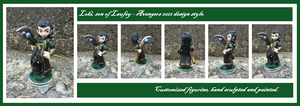 Loki - Custom figure by CrowMaiden