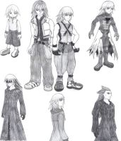 All the Rikus by Emptygoldeyes