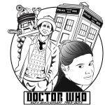 Seventh Doctor_Sticker by bluepen731