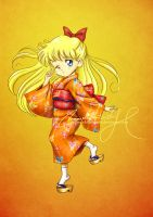 Matsuri Girl: Minako by MoonchildinTheSky