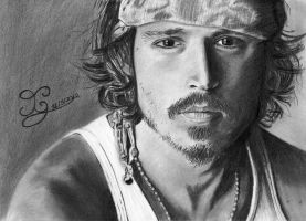 Johnny Depp by CarinaGM