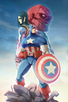 Captain America by ArtStudioAngel