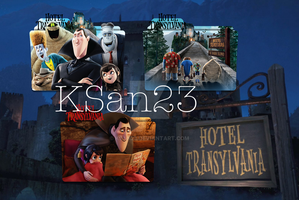 Hotel Transylvania Packaged Icons by KSan23