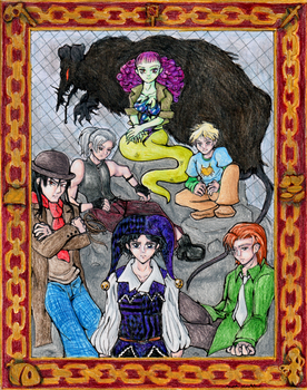 Seven Deadly Sins by TheBookof-ThePeddler