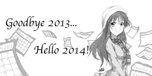 Happy New Year! by IfreakenLoveDrawing