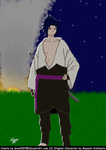 Sasuke Shippuden Colored by Gino2007