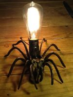 Spider Lamp by ArtbugCarl