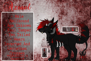 | Azrael 2014 Reference Sheet | by UltraViolentRainbows