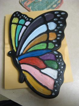 Rainbow Butterfly by Ivy-Redhead