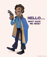 Lando Calrissian by WonderDookie