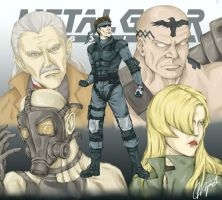 Metal Gear Solid by Margwli