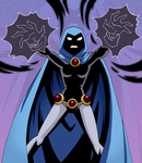 Raven's Power by Glee-chan