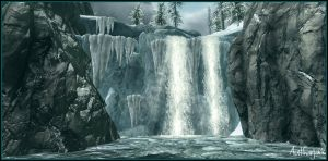 Skyrim - An Icy Landscape by authorjack