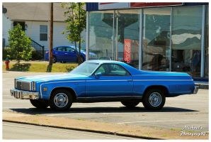 A 1977 Chevy El Camino by TheMan268