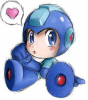 Megaman by HeavenCharge