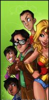 The Big Bang Theory by diabolumberto