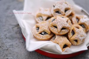 Foodporn: Mince pies IV by Persephine