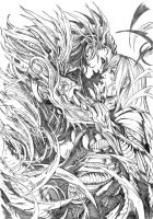 witchblade by Cross4