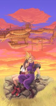 FFVII: One more moment by Risachantag