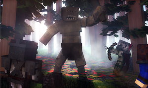 The Lord of the Rings: War in the Minecraft by n4swai