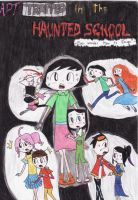 Trapped in the Haunted School Poster by MaiMaiLim