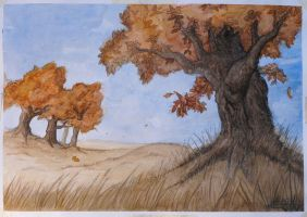 The Second Tree by dannieborg