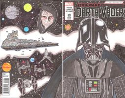 Vader Sketch Cover- Whole (Available) by Bright-Raven