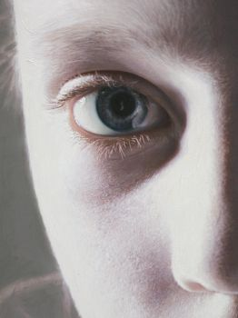 Murmur of the Innocents 13 (detail) by gottfriedhelnwein