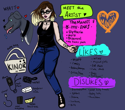 #MeetTheArtist Part 2 by themandii