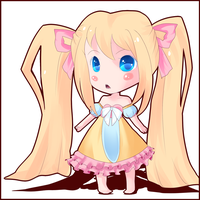 My new OC chibi by HiraueChan
