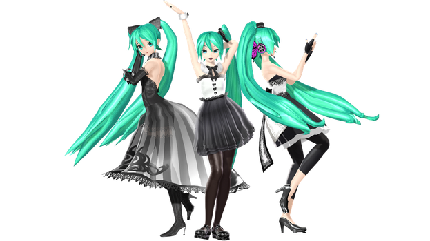 MMD DT Pack 3 Download by willianbrasil