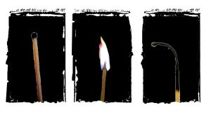 Lighting a match by shadowlight-oak