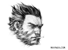 Logan, The Wolverine: A study by mavinga