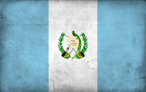Grunge Flag of Guatemala by pnkrckr