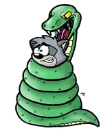 Why I Hate Snakes by Cartcoon