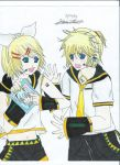 VOCALOID: Kagamine Twins - Secret Crush by HaneneAnwarAli