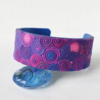 Violet shadows_bangle by WhiteSquaw