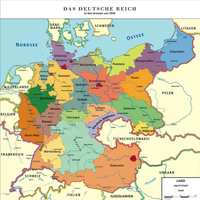 Map Greater German Reich (Kapp-Putsch) by TiltschMaster