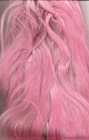 Pink Wig Scan by whiteroses-art
