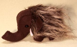 Mini Mammoth by Couch-stuffs