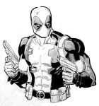 Deadpool con sketch by ReillyBrown