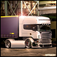 Scania R580 - BattleCry by Battle-Cry-TR