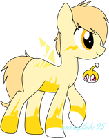 Electro Sparkez for adopt!! by snowflake95