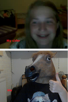 Trolling people on Omegle! by PawesomeSauce