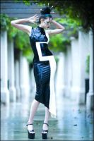 Square Side Dress by fiercecouture