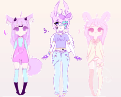 Adoptables #1 [OPEN] by Yuhi-Adopts