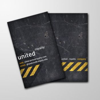 United Royalty Business Card by nwittwin